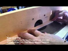 Cutting Beads and Coves for Strip Built Boats - YouTube
