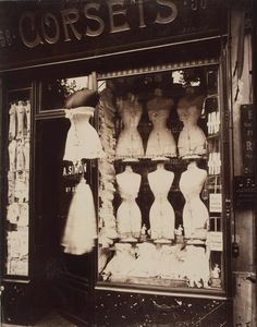 Eugene Atget I like this photograph because it captures something simple for the…