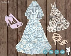 Bridal Dress Bride Wedding Dressing SVG Template | Bride | Marriage | Bridal Shower | White dress | svg Cut file | for Cricut | for Cameo -------------------------------------------------------------------------------------------------- Another beautiful spring dress is also available! https://www.etsy.com/uk/listing/509385864/svg-pdf-dress-papercut-template-svg -------------------------------------------------------------------------------------------------- ...