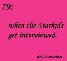 The Little Starkid Things