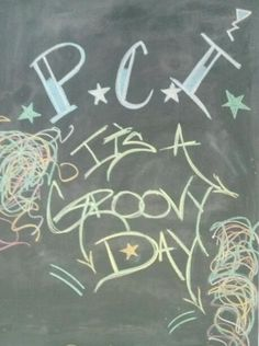 We have some pretty awesome chalkboard artists around here.