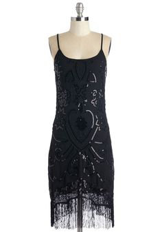 Le Chic Noir Dress. Bring your own dramatic flair to the cabaret in this dazzling LBD! #black #modcloth