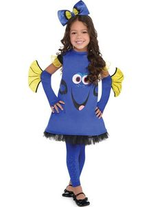 Toddler Girls Dory Costume - Finding Dory - Party City