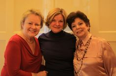"""Tish Rabe, Patricia Ryan Lampl & Ann Blumenthal Jacobs a.k.a. The Garter Brides: co-authors of """"Love for Grown-Ups"""" (06/30/12 Love for Grown-Ups - Marrying for Life When You Already Have a Life)"""