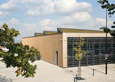 Louvres and grassy rooftops adorn Marly-le-Roi market hall