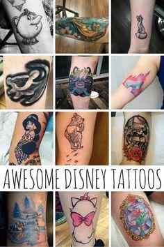 Awesome Disney Tattoos