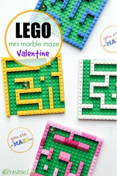 LEGO Mini Marble Maze Valentine's Day Gift for Kids