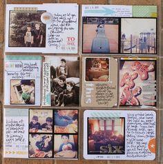 Love lisa truesdell....especially the standard photo sizes. Bottom left block rocks!
