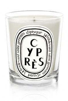 Diptyque Cyprès: cypress smell, reminds me of the forests in Canada
