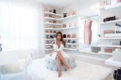 Barbie dream house closet home depot closet organizers do yourself dream cl Wardrobe Room, Closet Bedroom, Bedroom Decor, Dressing Room Closet, Dressing Room Design, Custom Closet Design, Closet Designs, Home Depot Closet Organizer, Glam Closet