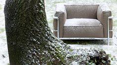Los clásicos de Le Corbusier para exteriores. Lo quiero, lo quiero.
