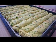 🔥🔥 2 SU BARDAĞI SU İLE MAYA YOK 🚫 BEKLEME YOK 🚫 DAKİKALAR İÇİNDE FIRINDA 💯 EL AÇMASI BÖREK TARİFİ 🔝 - YouTube Fresh Rolls, Asparagus, Sausage, Meat, Vegetables, Ethnic Recipes, Ethnic Food, Recipes, Cook