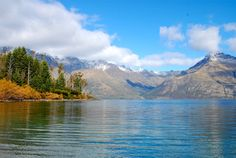 Lake Wakatipu, viewed here from the edge of the highway running between Queenstown and Glenorchy, is New Zealand's longest lake