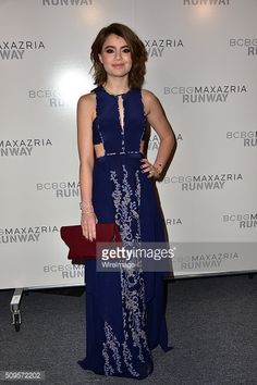 Actress Sami Gayle attends the BCBGMAXAZRIA Fall 2016 show during New.