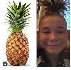 alla tycker nästan om ananas men jag älskar den mänskliga ananasen :)