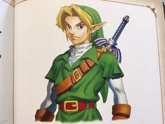 Which 'World-Famous Hollywood Actor' Is Ocarina of Time's Link Based On?