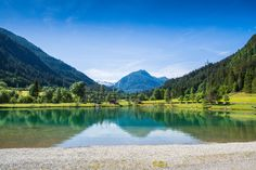 Badesee in Flachauwinkl - Rohrsee #swimming #sun #visitflachau Nordic Walking, Outdoor, Mountains, Nature, Travel, Tourism, Swimming, Horseback Riding, Friends