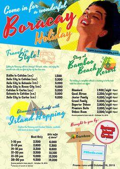 List of promos and packages Bohol, Palawan, Visayas, Cebu, Hotels And Resorts, Ph, Destinations, Tours, Beach