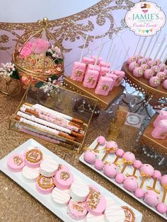 Little Princess Pink And Gold Baby Shower 2019 Little Princess Pink And Gold Baby Shower TheIcedSugarCooki Jamies Cake Pops And Creative Events The post Little Princess Pink And Gold Baby Shower 2019 appeared first on Baby Shower Diy. Baby Shower Treats, Baby Shower Cake Pops, Baby Shower Desserts, Baby Girl Shower Themes, Girl Baby Shower Decorations, Baby Shower Princess, Baby Shower Gender Reveal, Pink Princess, Babyshower Dessert Table