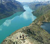 Besseggen i Valdres - Foto: Morten Helgesen