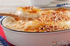 Receita de Arroz doce com crosta de caramelo em receitas de doces e sobremesas, veja essa e outras receitas aqui!