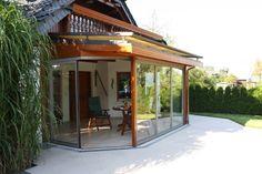 Kuhnert Glasbau Kamenz Holz-Wintergarten