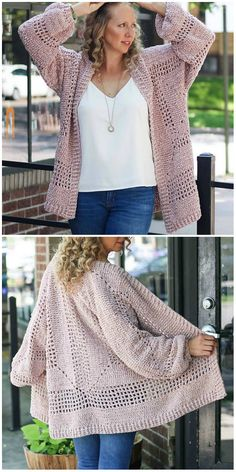 9 Tips for knitting – By Zazok Crochet Coat, Crochet Cardigan Pattern, Crochet Yarn, Crochet Clothes, Free Crochet, Knitting Patterns, Crochet Patterns, Clothes Crafts, Crochet Fashion