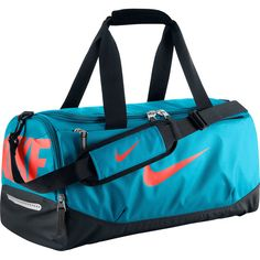 Nike Team Training Small Duffel Bag (72 AUD) ❤ liked on Polyvore featuring bags and luggage