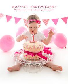 Laura Turns 1 ~  Cake Smash