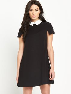 V by VeryCollar Skater Dress - Monochrome Understated and chic, this…
