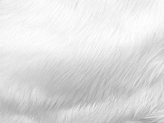 Faux Fake Fur Solid Shaggy Long Pile Fabric - White - Width Sold by The Yard
