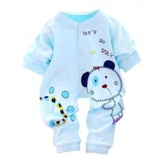 a8592593f958 Baby Kids Boy Girl Infant Romper Jumpsuit Cotton Clothes Outfit baby clothes