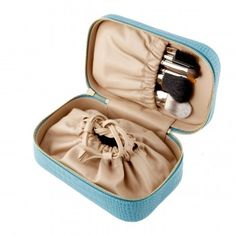 FOUND! So very much found! :D The perfect makeup pouch for travelling. Beauty Pouch - Leather Accessories - Smythson
