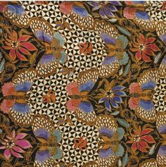 Batik Iwan Tirta: batik hokokai