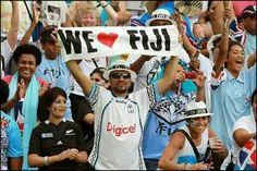 Let's go Fiji. We love you.