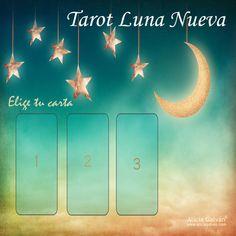 Esta noche es #LunaNueva. Elige una de las 3 cartas pinchando sobre ella y descubre el mensaje que te trae. 👇💫 #predicciones #Tarot