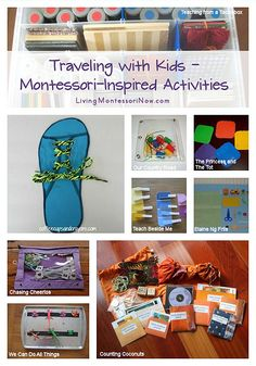 Traveling with Kids - Montessori-Inspired Activities