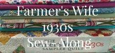 Farmers Wife 1930s Sew Along quilt blocks