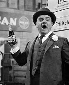James Cagney in Billy Wilder's One, Two, Three. 1961