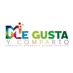 Logo oficial de ME GUSTA Y COMPARTO