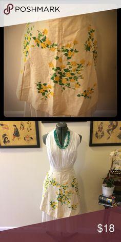 🖤Vintage🖤 floral apron Pretty floral vintage apron Other