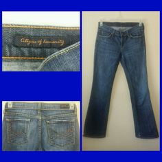 Citizens of Humanity Elle Women's Jeans Size 28 Inseam 30 Low Rise Bootcut Blue #CitizensofHumanity #BootCut