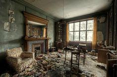 Berkyn Manor Berkyn Manor - La bibliothèque - Horton - Berkshire - Angleterre - Photo Odin Rave