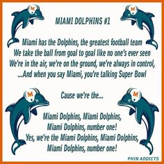 Miami Dolphins Fight Song ; love this song