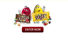 Enter Win a Years Supply of M&Ms Milk Chocolate or Peanut when you vote for which one is your favorite! Both melt in your mouth not in your hands.  M&M Sweepstakes