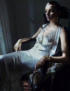 Vogue Germany March 2016  - Karly Loyce, Jamilla Hoogenboom - Emma Summerton