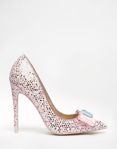 Image 2 of ASOS PARADE Pointed High Heels