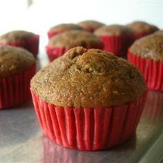 Muffins savoureux à la banane @ qc.allrecipes.ca