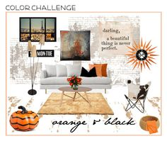 """""""industrial city loft"""" by jennross76 on Polyvore featuring interior, interiors, interior design, home, home decor, interior decorating, Sugarboo Designs, Improvements, Home Decorators Collection and Bandhini Homewear Design"""