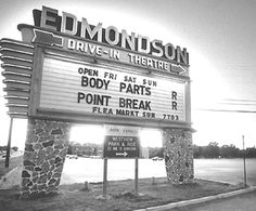 """""""The Edmondson"""" drive-in, Catonsville, Maryland, 1991"""